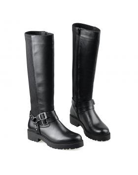 Черни дамски ежедневни ботуши Mirella в online магазин Fashionzona
