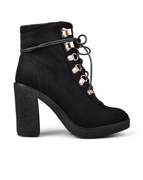 Черни дамски елегантни боти Fontaine в online магазин Fashionzona