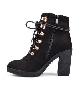 Черни дамски елегантни боти 0135334 Fontaine в online магазин Fashionzona
