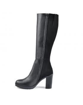 Черни дамски елегантни ботуши Chandelle в online магазин Fashionzona