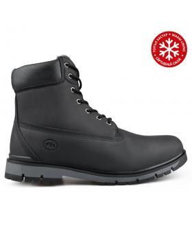 Черни мъжки ежедневни боти с топъл хастар 0135603 Tam в online магазин Fashionzona