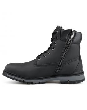 Черни мъжки ежедневни боти с топъл хастар Tam Jacindo в online магазин Fashionzona