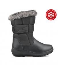 Черни дамски ежедневни боти с топъл хастар 0135630 Floriana