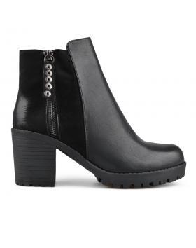 Черни дамски елегантни боти 0135678 Lealia в online магазин Fashionzona