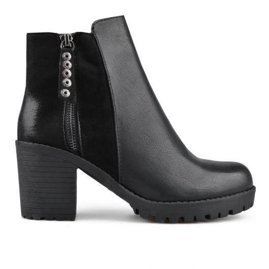 Черни дамски елегантни боти 0135678 Lealia