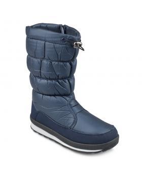 Сини дамски ежедневни ботуши с топъл хастар Lenora в online магазин Fashionzona