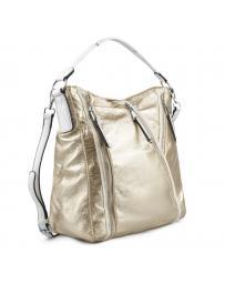 Златиста дамска ежедневна чанта Lilibeth
