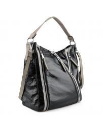 Черна дамска ежедневна чанта Bell