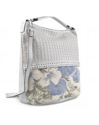 Сива дамска ежедневна чанта Rukmini