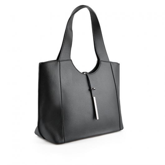Черна дамска ежедневна чанта Madison