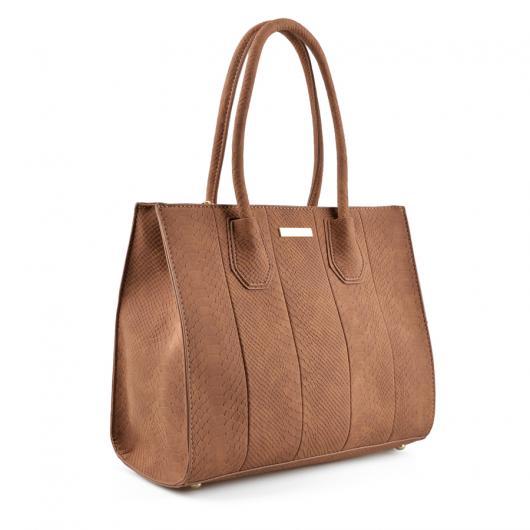 Кафява дамска ежедневна чанта Lonnie