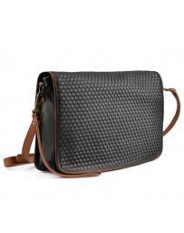Черна дамска ежедневна чанта Duena