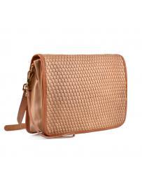 Кафява дамска ежедневна чанта Fanchon