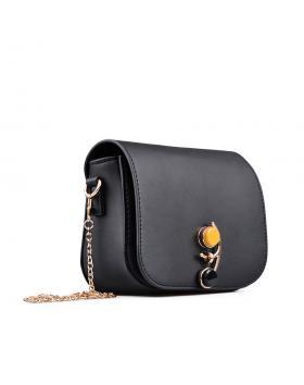 Черна дамска ежедневна чанта в online магазин Fashionzona