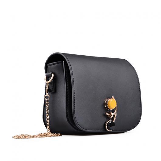 Черна дамска ежедневна чанта Mylah