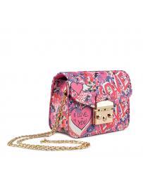 Розова дамска ежедневна чанта Shanda