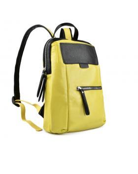 Жълта дамска раница Amora в online магазин Fashionzona