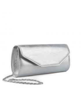 Сребриста дамска елегантна чанта Atmaja в online магазин Fashionzona