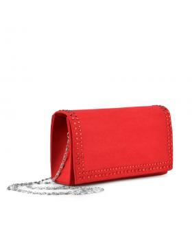 Червена дамска елегантна чанта Parnella в online магазин Fashionzona