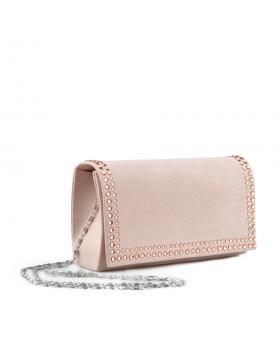 Бежова дамска елегантана чанта Chandler в online магазин Fashionzona