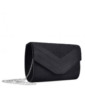 Черна дамска елегантна чанта Kaye в online магазин Fashionzona