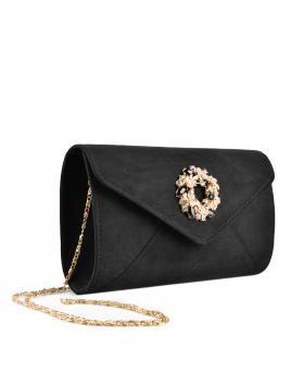 Черна дамска елегантна чанта Amorra в online магазин Fashionzona