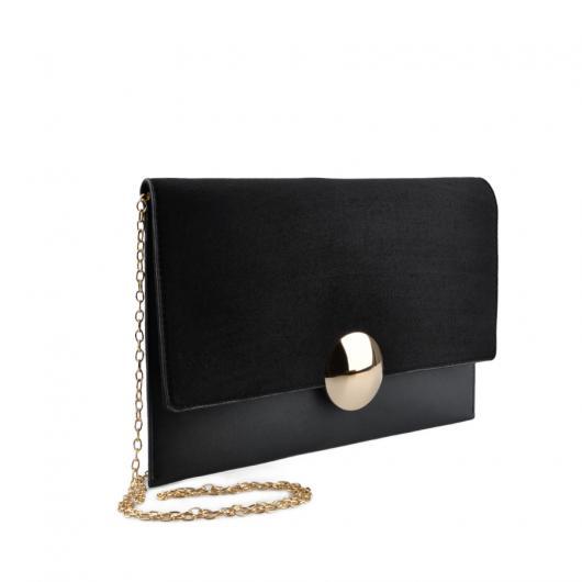 Черна дамска елегантна чанта 0136751 Josefina
