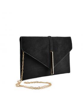 Черна дамска елегантна чанта Queenie в online магазин Fashionzona