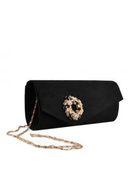 Черна дамска елегантна чанта Avery в online магазин Fashionzona