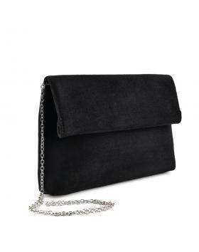 Черна дамска елегантна чанта Delora в online магазин Fashionzona