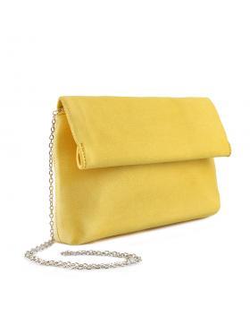 Жълта дамска елегантна чанта Farfa в online магазин Fashionzona