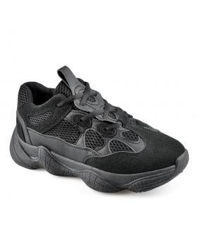 Черни дамски ежедневни обувки Leone в online магазин Fashionzona