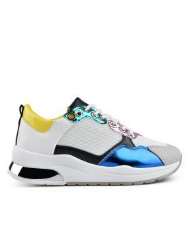 Бели дамски ежедневни обувки Kordney в online магазин Fashionzona