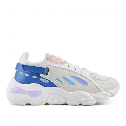 Бели дамски ежедневни обувки Alfonsa