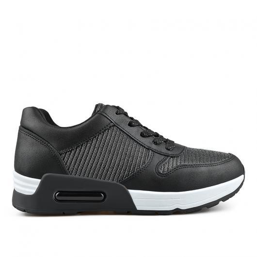 Черни дамски ежедневни обувки Chrystal