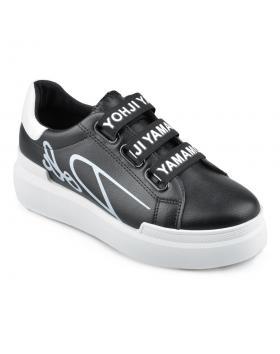 дамски ежедневни обувки черни Rosselin в online магазин Fashionzona