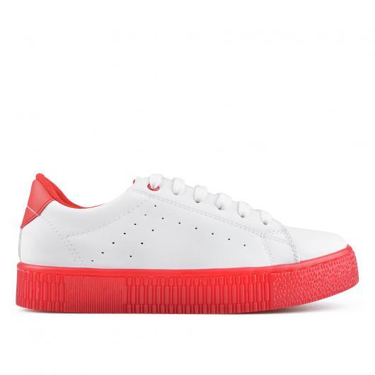 Бели дамски ежедневни обувки Quianna