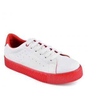 Бели дамски ежедневни обувки Quianna в online магазин Fashionzona