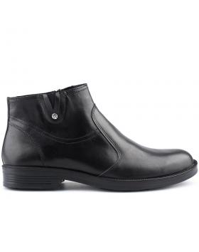 Черни мъжки елегантни боти 0126034 в online магазин Fashionzona