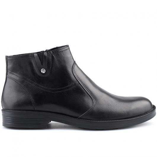 Черни мъжки елегантни боти Amoldo