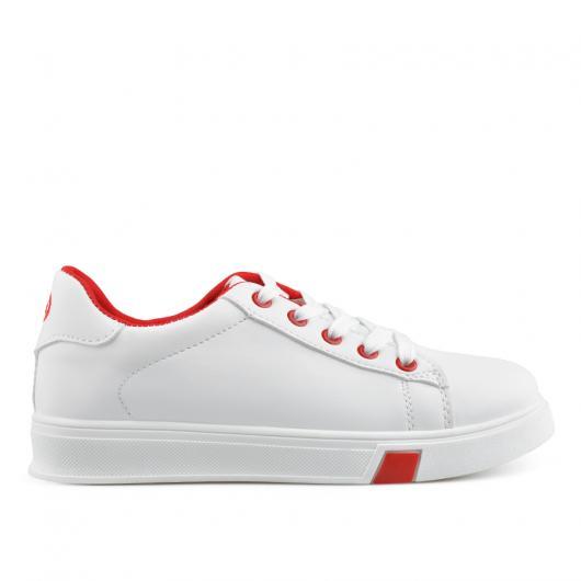 Бели дамски ежедневни обувки Sage