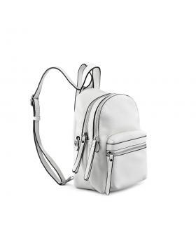 Бяла дамска раница Sherice в online магазин Fashionzona