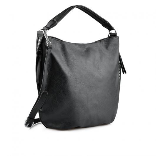 Черна дамска ежедневна чанта Telisa