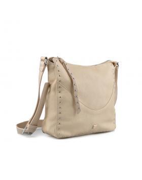 Бежова дамска ежедневна чанта Brianda в online магазин Fashionzona