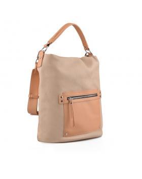 Бежова дамска ежедневна чанта Fleur в online магазин Fashionzona