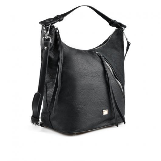 Черна дамска ежедневна чанта Amabel