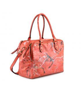Розова дамска ежедневна чанта Roderiga в online магазин Fashionzona
