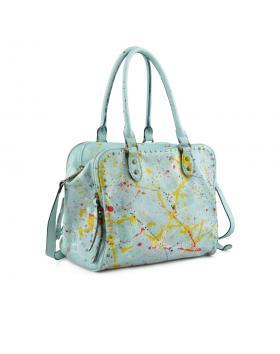 Зелена дамска ежедневна чанта Chantele в online магазин Fashionzona