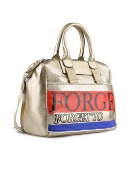 Златиста дамска ежедневна чанта Terry в online магазин Fashionzona