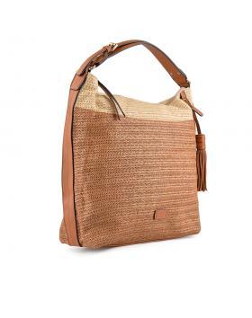 Кафява дамска ежедневна чанта Orlena в online магазин Fashionzona